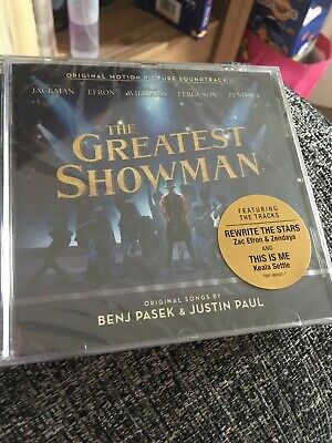 The Greatest Showman Cd Soundtrack - Sealed & New