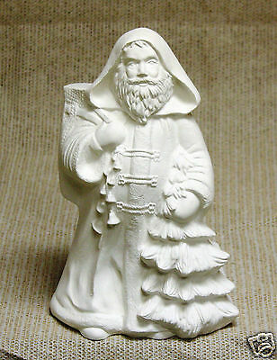 Ceramic Bisque Norwegian World Santa Kimple Mold 1789 U-Paint Ready To Paint