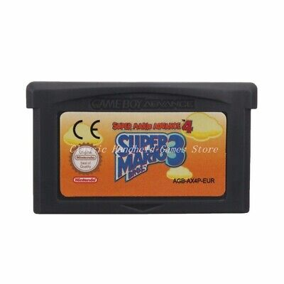 Super Mario Advance 4 Bros 3 Cartridge Card For Game Boy Advance GBA SP NDS NDSL