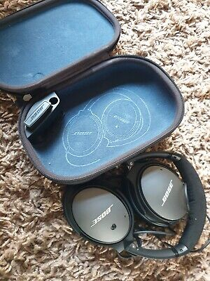 Bose QuietComfort 25 Over the Ear Headphones - Silver/Black