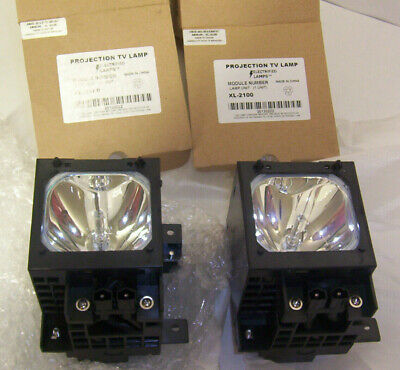 Pair of New Projection TV Lamps  Xl-2100