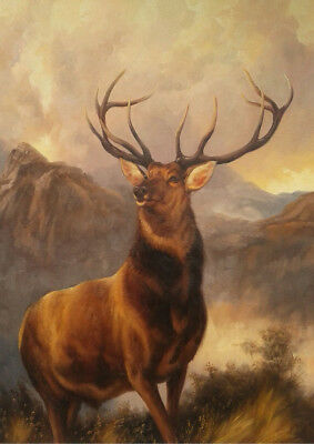 Monarch of the Glen by Landseer 230gsm photo quality paper choose size