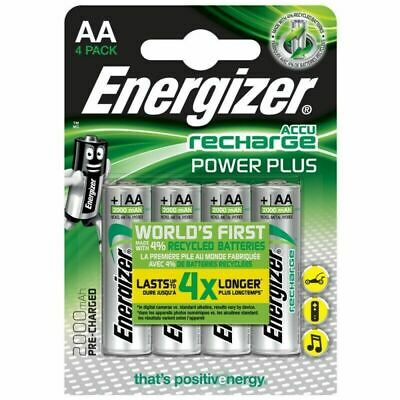 Energizer Power Plus AA Rechargeable Batteries, PreCharged NiMH  2000mAh best