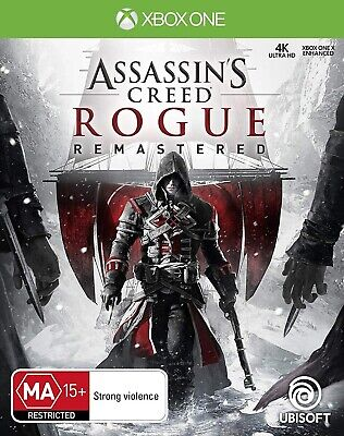 Xbox One Xb1 Video Game Assassin's Creed Rogue Remastered Brand New And Sealed
