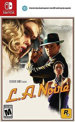 Nintendo Switch Game L.a. Noire Brand New Sealed