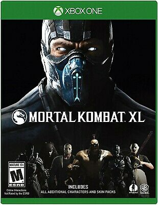 Xbox One Xb1 Video Game Mortal Kombat Xl Brand New And Sealed