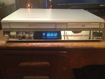 Sharp DV-RW250 Vhs/dvd player & recorder Record all your old vhs tapes to dvd