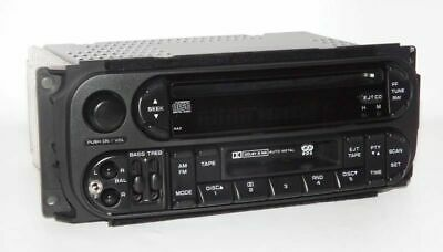Chrysler Town & Country 2006 Van AM FM CD Cassette Radio w Added 3.5 Aux Input
