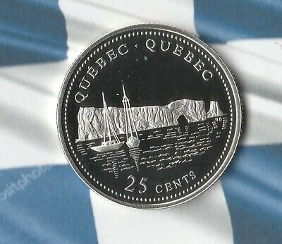 1992 Canada 125th Anniversary Commemorative Sterling Silver Coin- Quebec