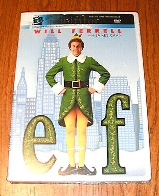 Elf DVD Will Farrell Christmas Holiday Comedy Funny Movie 2 Disc Special Edition