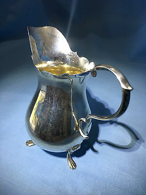 Beautiful Fine Sterling Silver Milk/Cream Jug Lovely Condition 1919