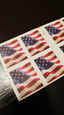 $10.25!! Free Shipping! 20 2017 US Flag Forever Stamps