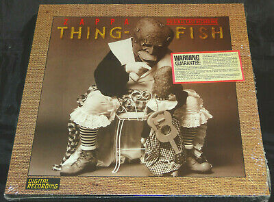 Frank Zappa Thing-Fish Sealed Vinyl Records LP Box USA 1984 Orig Hype Sticker