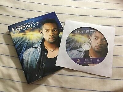 """I, Robot [Blu-ray] **DISC + ART ONLY"""" **NO CASE** **LIKE NEW**"""