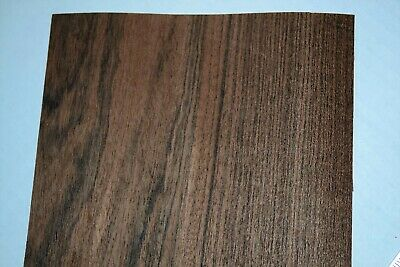 Bocote Raw Wood Veneer Sheets 7 x 25 inches 1/42nd thick          F8628-47