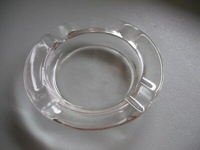 Glass Ash Tray Round