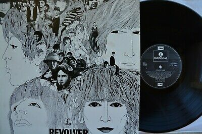 BEATLES Revolver PCS-7009 Parlophone Records UK Vinyl LP 1984 EX+