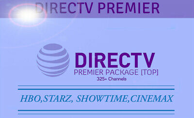 DirecTV Account| Premier Plan 330 CH✓for 1 YEAR fast FAST DELIVERY AND WARRANTY
