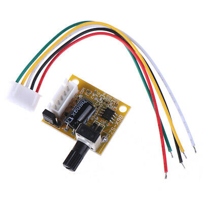 Dc 5V-12V 2A 15W Brushless Motor Speed Controller No Hall Bldc Driver Board FE