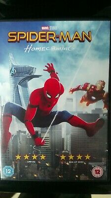 Spider-Man Homecoming DVD In excellent condition Cert 12 MARVEL Spiderman