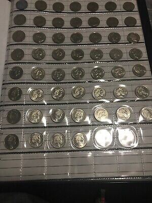 1966 - 2018 Full 5c Collection Australian Five Cent Coins +rare 1972 1985 1986