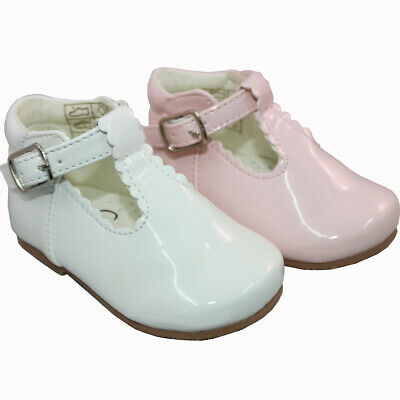 Girls Shoes Danielle Occasion Wedding Party Flower Patent  Sevva Rollybaby