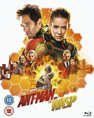 Ant Man and the Wasp Blu Ray - Marvel - Seen Once - Excellent Condition