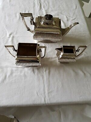 Superb Electro Plated TEA SET c1900 by Daniel & Arter in the Greek Revival Style