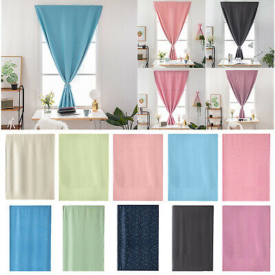 1Pcs 7Colors 4Size Self-Adhesive Blinds Blackout Window Curtains Home Room  #16Y