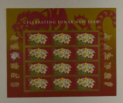 Us Scott 4435 Pane Of 12 Celebrating Lunar New Year 44 Cent Stamps Mnh