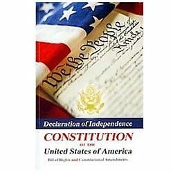Declaration Of Independence, Constitution Of The United States Of America, Bill