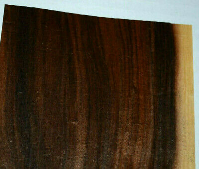 Santos Rosewood Raw Wood Veneer Sheets 4.5 x 49 inches 1/42nd thick     F8629-10