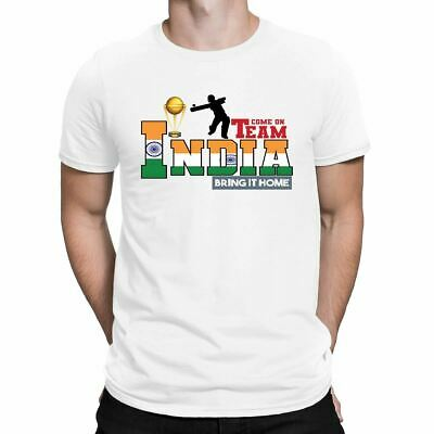 India Team Bring It Home Cricket World Cup 2019 Mens T-Shirt Adult Unisex
