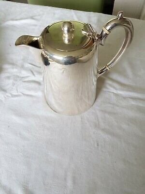 Good Quality EPNS Coffee / Hot Water Jug By James Dixon