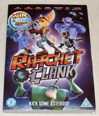 Ratchet and Clank DVD (2016) Kevin Munroe