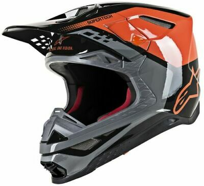 Alpinestars Supertech M8 Triple Helmet Motorcycle ATV/UTV Dirt Bike