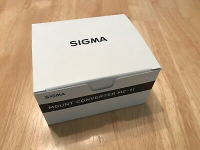 Sigma MC-11 Lens Mount Converter/Adapter for Canon EF to Sony E-Mount