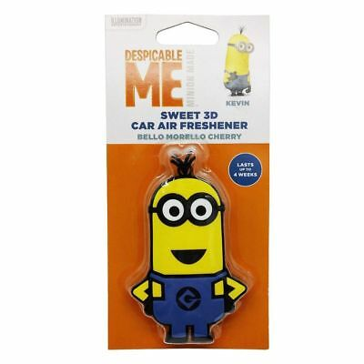 Despicable Me Minions 3D KEVIN Bello Morello Cherry Gel Hanging 3D Air Freshener