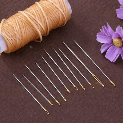 16pcs/set Metal Hand Sewing Needles Kit Household ​Leather Carpet Repair Tool