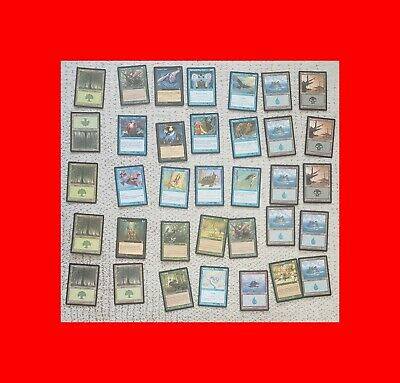 ☆LOT OF 35 MAGIC THE GATHERING MTG PORTAL CARDS circa 1993 STARTER÷JUNGLE+MORE!☆