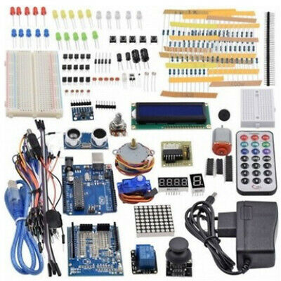 Ultimate Proyecto Super Starter Kit Principiante Diy + Tablero Para Arduino