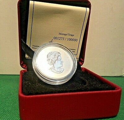 2011 $10 1/2 oz RCM Silver Coin Maple Leaf 1273 of 100K SHIPS FREE!!