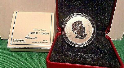 2011 $10 1/2 oz RCM Silver Coin Maple Leaf 1251 of 100K SHIPS FREE!!