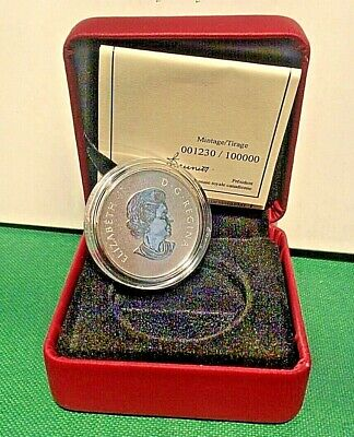 2011 $10 1/2 oz RCM Silver Coin Maple Leaf 1230 of 100K SHIPS FREE!!