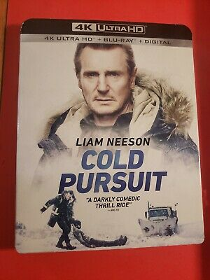 Cold Pursuit (4K Ultra HD Blu-ray, 2019)  with SLIPCOVER NO DIGITAL