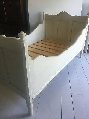 Antique Pine Sleigh Bed