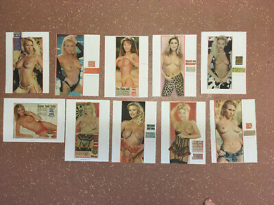 Page 3 Girl Clippings / Cuttings Vintage Page 3 Glamour Art / Nudes (Lot 18)
