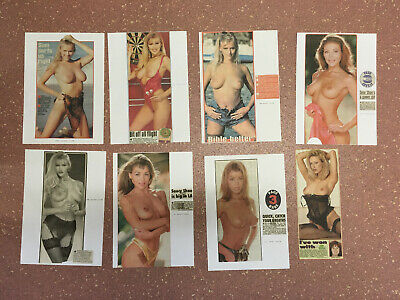 Page 3 Girl Clippings / Cuttings Vintage Page 3 Glamour Art / Nudes (Lot 20)