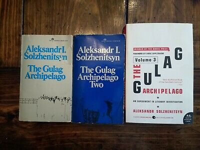 The Gulag Archipelago Complete Trilogy Set One Two Three 1 2 3 Solzhenitsyn