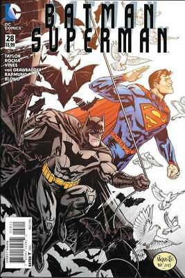 Batman/Superman (2013 series) #28 in Near Mint + condition. DC comics [*ej]